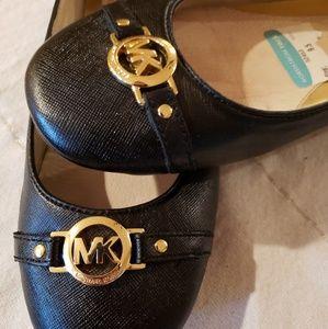 Michael Kors Leather Flats 9.5